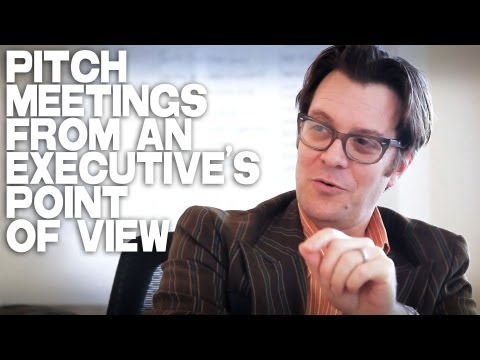 Movie Pitch Meetings From An Executive's Point Of View by Jack Perez