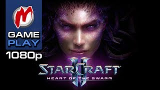 ▶ StarCraft 2: Heart of the Swarm - Начало игры / Gameplay | HD 1080p