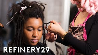 My Dramatic Faux Goddess Locs Hair Transformation | Hair Me Out | Refinery29