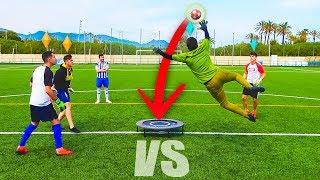 El JUEGO de PORTEROS MÁS DIVERTIDO de la HISTORIA ¡Retos de Fútbol!