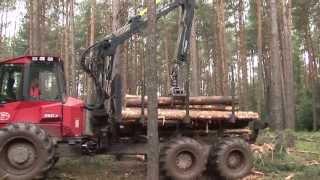 Nowoczesne maszyny wielooperacyjne w leśnictwie - Harvester i Forwarder