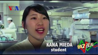 Japanese Chefs learning French cuisine