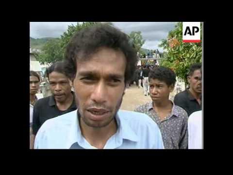 EAST TIMOR: DILI: ANNIVERSARY OF 1991 MASSACRE MARKED