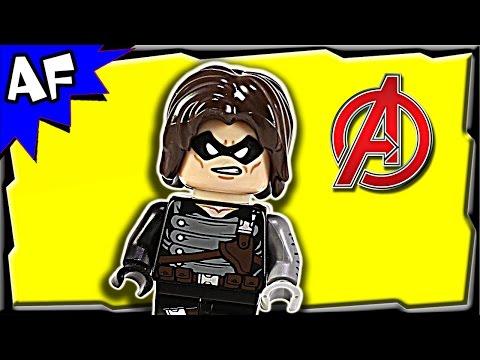 Lego Captain America WINTER SOLDIER Minifigure Review 5002943