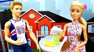 Самый НЕУДАЧНЫЙ день Барби - Видео с куклами - Мультики для девочек