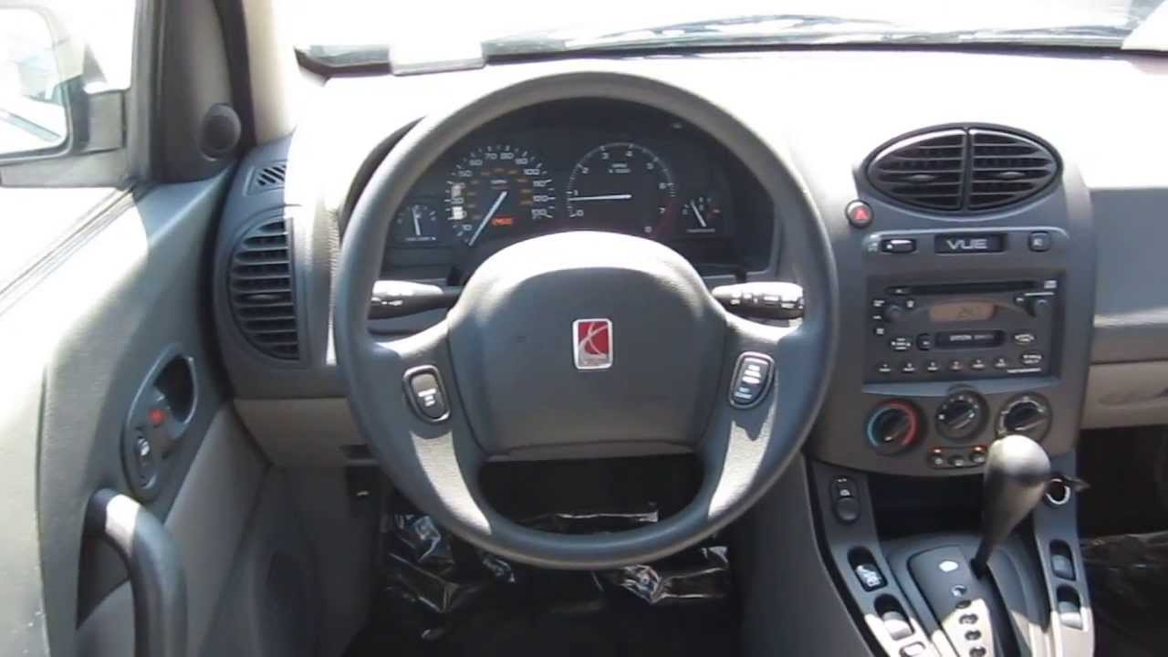 2002 saturn vue white stock 6103b interior youtube. Black Bedroom Furniture Sets. Home Design Ideas