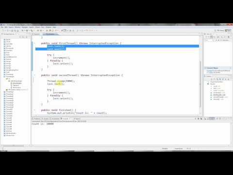 Advanced Java: Multi-threading Part 10 - Re-entrant Locks