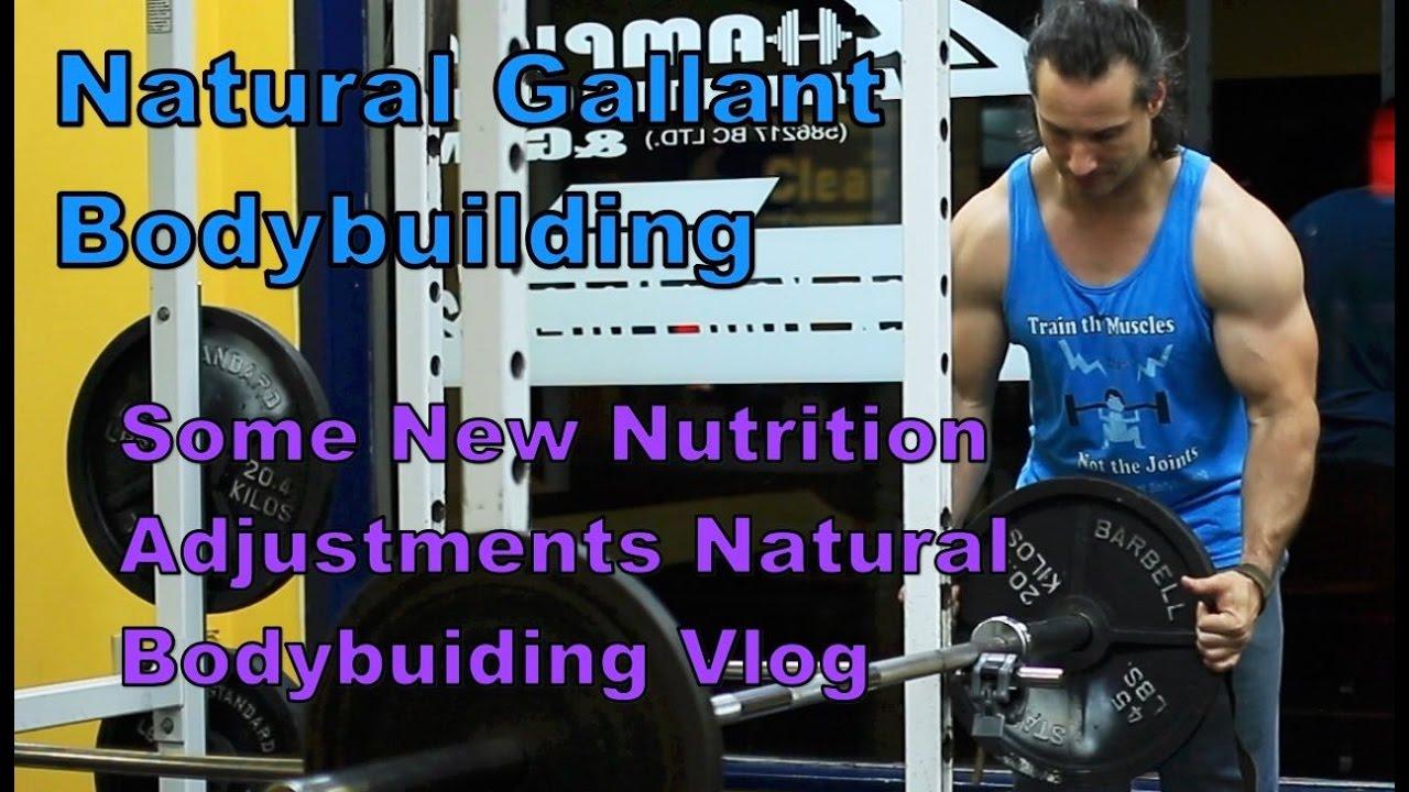 Natural Bodybuilding Vlog, Some New Adjustments to my