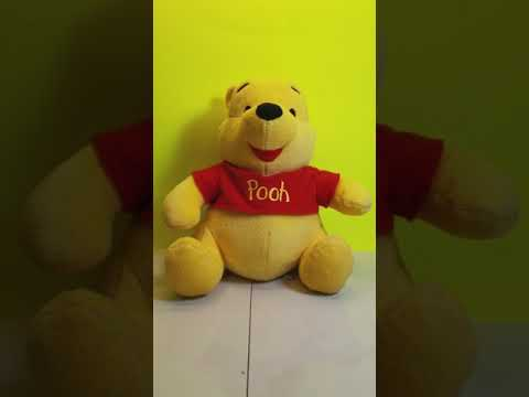 Disney Baby The First Years Winnie the Pooh Plush Musical & Womb Sounds