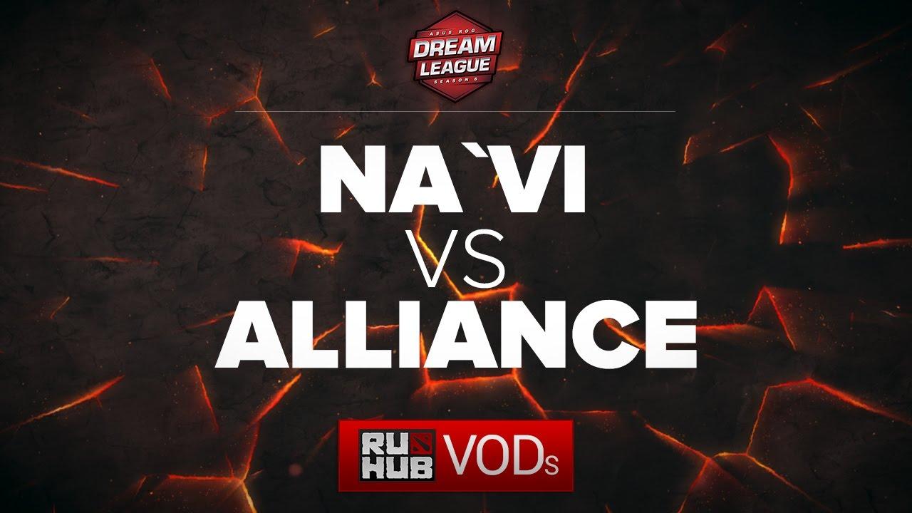 Download NaVi vs Alliance, DreamLeague Season 6, game 1