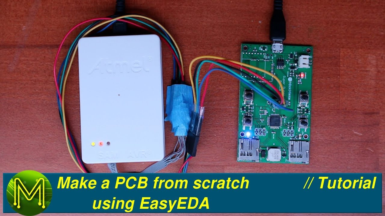204 Make A Pcb From Scratch Using Easyeda Part 2 Tutorial Printed Circuit Boards Motherboard Made In China Buy 4 Layer