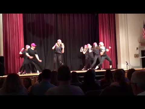 Pitman Middle School Talent Show Dance Troop
