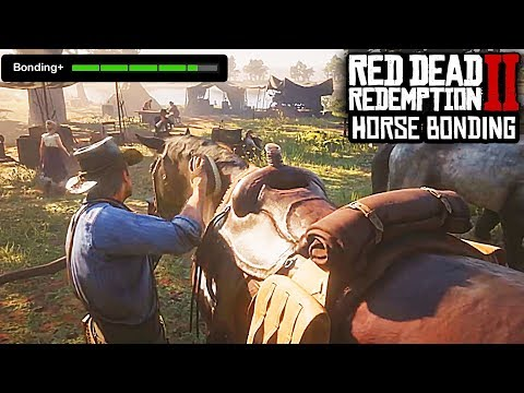 RDR2 - TIPS BEFORE YOU PLAY - HOW TO BOND WITH YOUR HORSE PROPERLY!