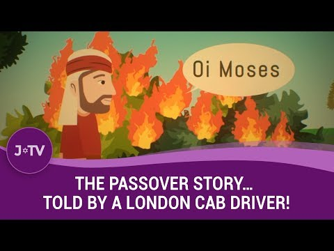The Passover story...told by a London Cab Driver...in cockney rhyming slang!