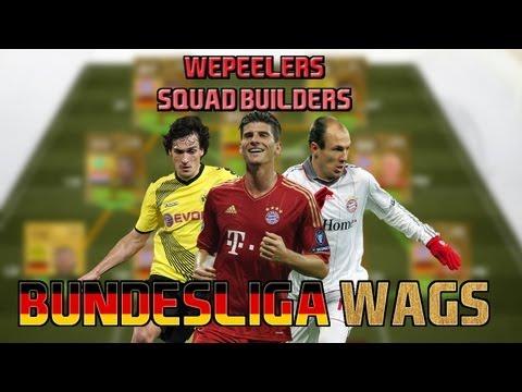 FIFA 13 UT - WAGS! Bundesliga ft IF Gomez IF Lewandowski (Squad Builder) - 동영상