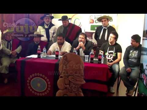 Conferencia de Prensa del Festival Nacional de la Chicha 2015