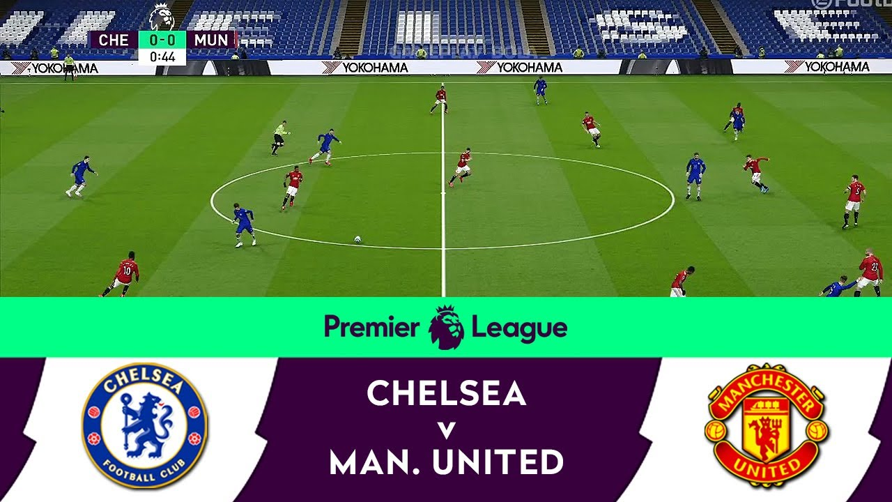 Download Chelsea v Manchester United | English Premier League 2021 Matchday 26