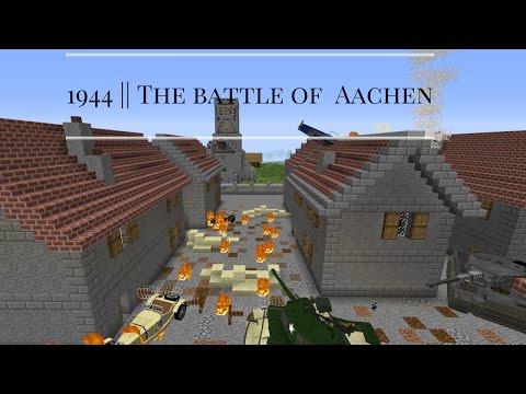 Minecraft || 1944 Battle of Aachen