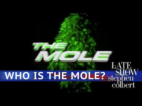 Watch Late Show Skit - The Mole: Trump Administration Edition!