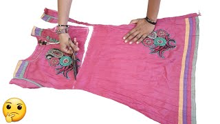 Awesome Idea From Old Kurti // New Idea // Transformation Idea // By Hand made Ideas
