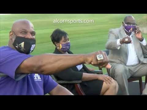 Swac Alcorn State University Football Coach Fred Mcnair Talks To Bnc Sports Anchor James Hill P1 Youtube