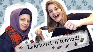 Making Of Lakritz-Mix mit JASNA FRITZI BAUER