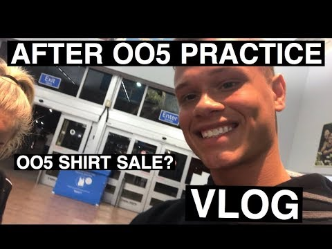 AFTER OO5 Practice (Vlog) & OO5 WORLDS T-SHIRT SALE!