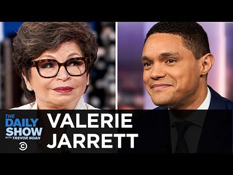 "Valerie Jarrett - ""Finding My Voice"" And The Journey To The Obama White House 