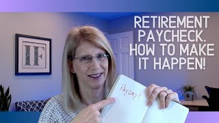 How will you pay yourself in Retirement?  A retirement paycheck!