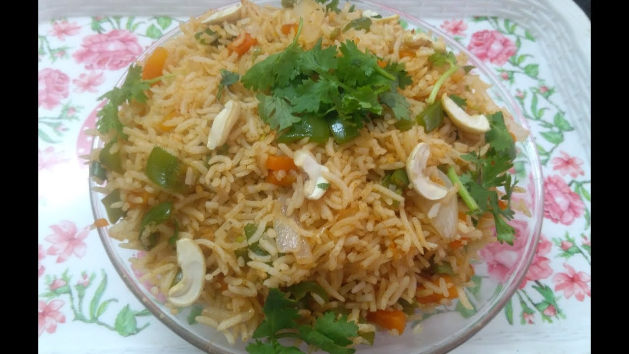 Vegetable fried rice in telugu veg fried rice recipe by moms vegetable fried rice in telugu veg fried rice recipe by moms tasty recipes ccuart Choice Image