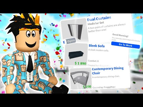 THE NEW BLOXBURG UPDATE! OPEN/CLOSE CURTAINS, FURNITURE AND MORE!