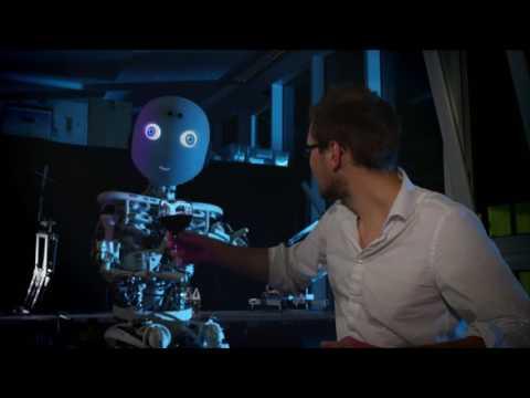 """Робот и человек """"Мысли в Слух"""" Озвучка (много мата)"""