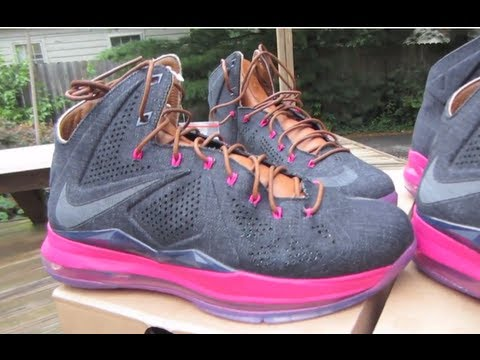 sports shoes 69527 920d2 Lebron 10 X EXT Denim QS Review + On Feet + Nike Sportswear Lebron X EXT