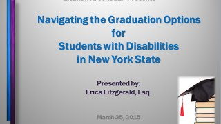 New York State's Diploma Options for Students with Special Needs