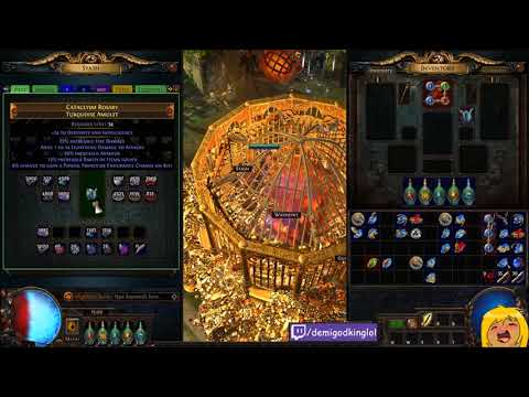 Crafting Spider Queen's New SHAPED 10% Elemental Penetration Amulet | Demi