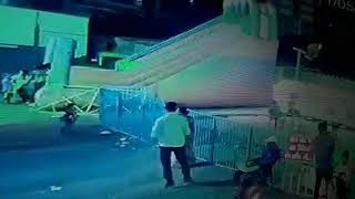 Rajkot: 3 years baby died due to accident with baby train in funfair, Watch this CCTV