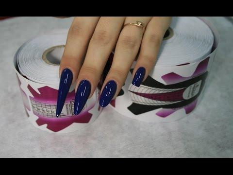 Ногти пики форма