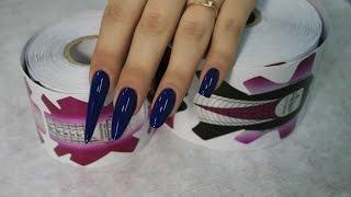 Моделирование разных форм ногтей. Новые формы EzFlow