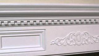 Fireplace Mantel To Fit A Small Wall