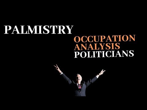 OCCUPATION ANALYSIS - POLITICIANS