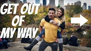 GET OUT OF MY WAY | A Weekend in New York