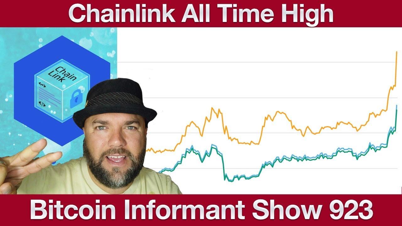 #923 Bitcoin Gold BTG 51Attacke, Chainlink ATH & Youtube Bitcoin Scammer