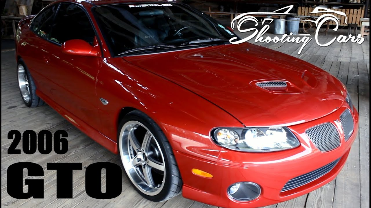 2006 Pontiac GTO, an in depth review - YouTube