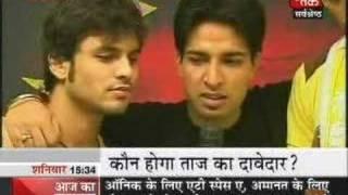 Aaj Tak - Junaid Sheikh,Harpreet Deol,Amanat Ali n Aneek 01