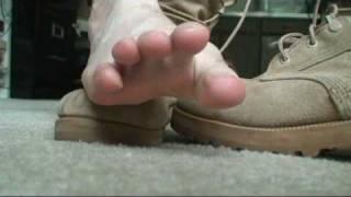 Military Boot fetish