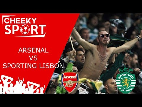 SPORTING LISBON FANS TAKE OVER THE EMIRATES IN STYLE | ARSENAL 0-0 SPORTING LISBON