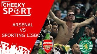 Sporting Lisbon Fans Take Over The Emirates In Style | Arsenal 0 0 Sporting Lisbon