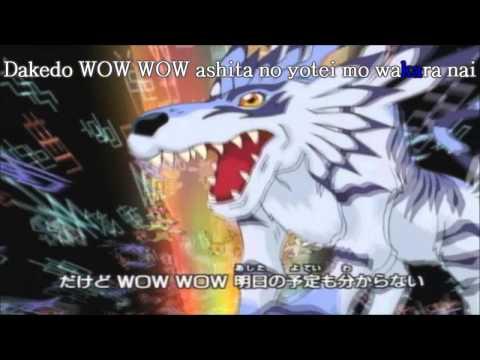 Butter-fly Karaoke (Opening Digimon Adventure 01)