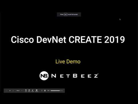 What I learned at DevNet CREATE 2019 | NetBeez