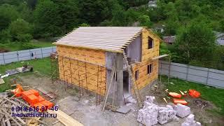 Дом из газоблока в Сочи  СК Медведь  Строительство дома из газоблока